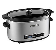 KitchenAid 6-Qt Slow Cooker - Stainless - K298787
