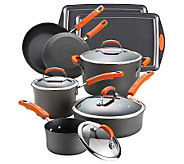Rachael Ray Hard Anodized II Nonstick 12-PieceSet - K302187