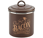Ayesha Curry Home Collection Enamel on Steel Bacon Grease Can - K376487
