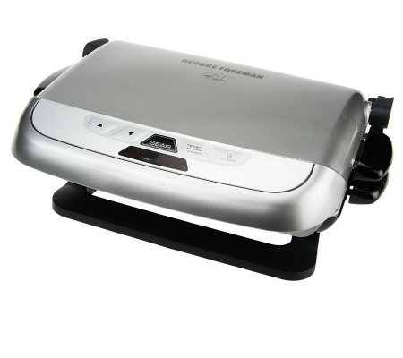 George foreman 5 serving evolve grill w sear function - Largest george foreman grill with removable plates ...