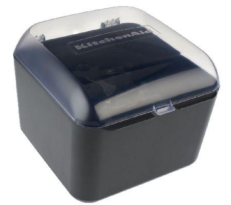 Kitchenaid 9 Cup Food Processor Blade Disc Storage Case Qvc Com