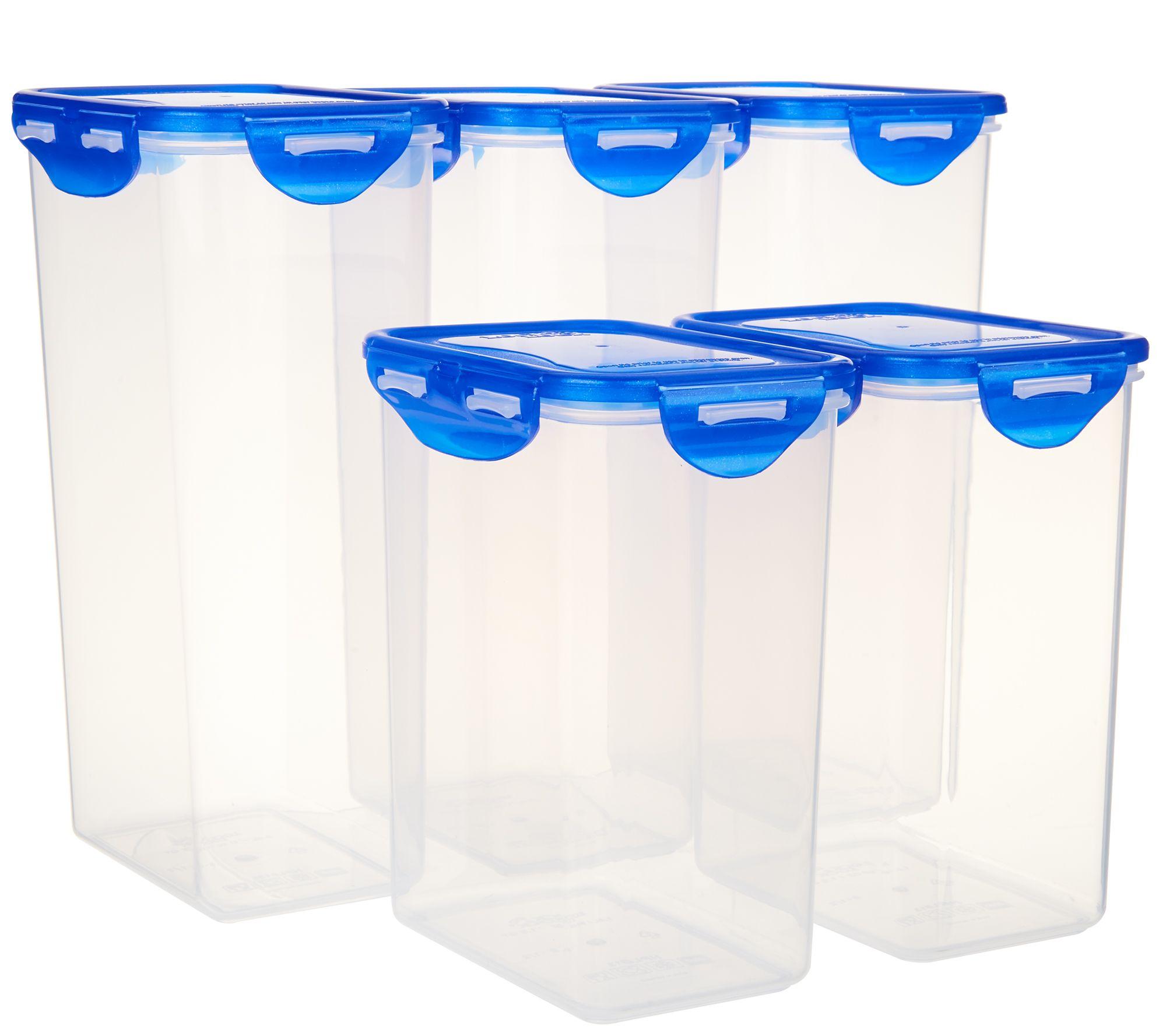 Pantry Cabinet With Lock: Lock & Lock 5-piece Pantry Set