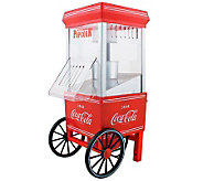 Nostalgia Electrics Coca-Cola Series Hot Air Popcorn Maker - K300988