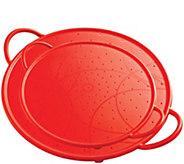 Kuhn Rikon Set of 2 Silicone Splatter Guards -Red - K306888
