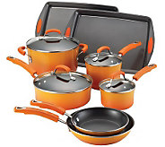 Rachael Ray Porcelain II Nonstick 12-Piece Set - K302189