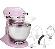 KitchenAid 4.5qt. 300W Tilt Head Stand Mixer with Flex Edge - K41789