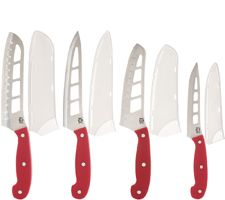 Mad Hungry 4-piece Air Blade Knife Set with Sheaths