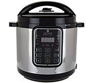 Cooks Essentials 6qt Sloped Panel Digital Pressure Cooker - K44889