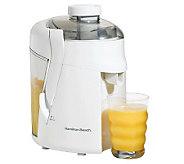 Hamilton Beach 67800 HealthSmart Juice Extractor - White - K299590