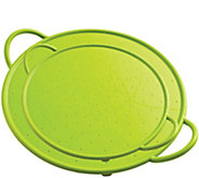 Kuhn Rikon Set of 2 Silicone Splatter Guards -Green - K306890