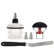 OXO Good Grips 6-piece Cupcake, Muffin and Cookie Decorating Set - K41690