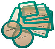 Cooks Essentials 7-Piece Silicone Baking Mat Set - K44690