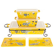 Valerie Bertinelli 6-Piece Bake & Serve Set - K47190