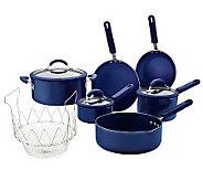 As Is Cooks Essentials ColorSmart Nonstick Cookware Set - K288991