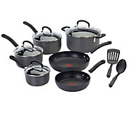 T-fal E918SC64 Ultimate Hard Anodized 12-PieceCookware Set - K299691