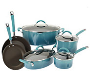 As Is Rachael Ray Gradient Rustica 10-pc Cookware Set - K307191