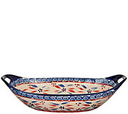 Temp-tations Old World 15 x 7 Oval Centerpiece Bowl - K43791