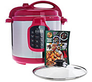 CooksEssentials 6 qt. Digital Stainless Steel Pink Pressure Cooker - K45091