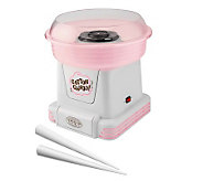 Nostalgia Electrics PCM-805 Cotton Candy Maker-Pink/White - K299492