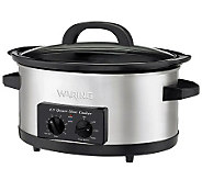 Waring Pro 6.5-qt Professional Slow Cooker w/ Serve Pot - K300892