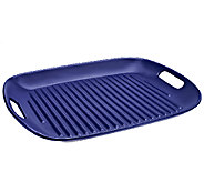 As Is Cooks Essentials 16x 12 Flameproof Ceramic Grill Pan - K307092