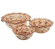 Temp-tations Set of 3 Serving Bowl Set - K39692