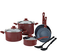 Green Pan 10-piece Cookware Set with Ceramic Nonstick - K43392