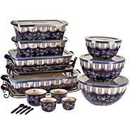 Temp-tations Floral Lace 20-piece Bakeware Set - K45092