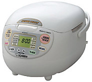 Zojirushi Neuro Fuzzy 5-1/2 Cup Rice Cooker andWarmer - K120093