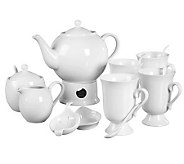 Tabletops Gallery Denmark 17-Pc Tea Set - K299793