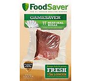 GameSaver Set of (6) 11 Rolls by FoodSaver - K375093