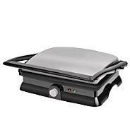 Kalorik Stainless Steel/Black Panini Maker - K129894