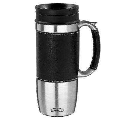 Trudeau Boardroom Travel Mug K298294 Qvc Com