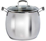 Epicurious 16-qt Stainless Steel Covered Stockpot - K306294