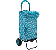 Trolley Dolly Cooler with Insulated Leak Proof Bag - K45194