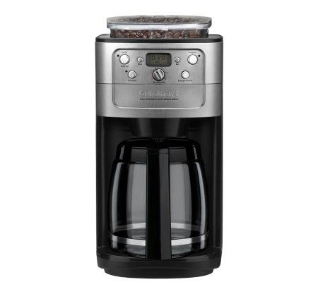 Cuisinart Grind & Brew 12-Cup Coffee Maker w/ Bean Hopper QVC.com