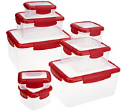 Click Close 8-piece Locking Storage Containers - K45195