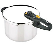 Fagor Duo 6-qt Stainless Steel Pressure Cooker - K133396