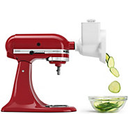 KitchenAid RVSA Stand Mixer Rotor Slicer Shredder - White - K160496