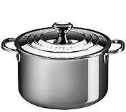 Le Creuset Stainless Steel 11-qt Stockpot withLid - K303596