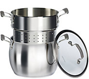 Epicurious Stainless Steel 3-Piece 10-qt PastaCooker - K306296