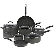 Circulon Hard Anodized 12-Piece Dishwasher Safe Cookware Set - K41696
