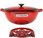 Le Creuset Heritage 7.5qt Cast Iron Chefs Oven with Trivet - K45196
