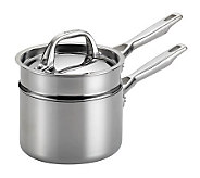 Anolon Tri-Ply Clad Stainless Steel 3-Piece Double Boiler Set - K302897