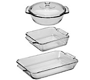 Anchor Hocking 4-Piece Bake Set - K304197