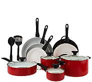 SilverStone CeramicNonstick 13-Piece Cookware Set - K41697