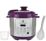 CooksEssentials 4qt Digital Stainless Steel Pressure Cooker - K43297