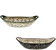 Temp-tations Old World or Floral Lace 15 x 7 CenterpieceBowl - K43797