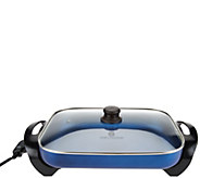 Cooks Essentials 12x15 Nonstick Electric Skillet w/ Lid - K44497