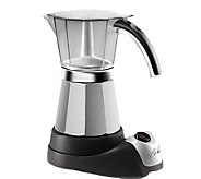 DeLonghi EMK6 Electric Espresso Maker 3-6 Cups - K117998